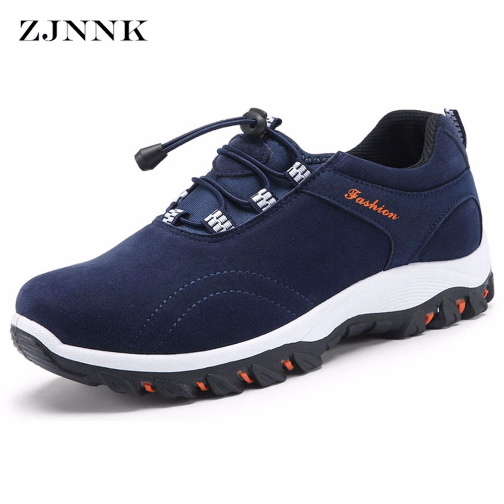ZJNNK New Men Casual Shoes Skid-proof Travel Outdoor Shoes Hard-wearing Zapatos Hombre Fashion Trendy Suede Men Shoes Hot Sale<br>
