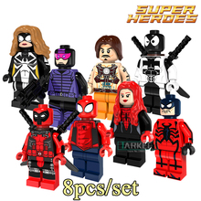 Building Blocks PG8057 Paladin Venom Deadpool Figures Avengers Superhero Star Wars Model Action Bricks Kids DIY Toys Hobbies - SZ-My paradise store