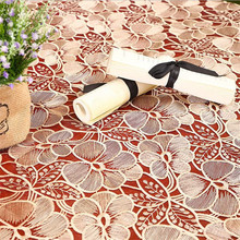 #20 The New Garden Glass Gauze Water-soluble Glass Yarn Embroidery Table Cloth Table Cloth Multi-purpose Cloth Square Tablecloth