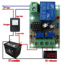 12V/24V 6-60V Battery Charging Control Board Charger Power Supply Switch Module(China)
