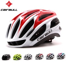 Cairbull 4D Cycling Helmet Integrally-molded Ultralight Road MTB Bike Helmets High Quality EPS+PC 56-62CM Adult Bicycle Helmet(China)