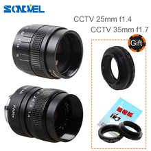 Buy 2 1 CCTV 25mm F1.4 + 35mm F1.7 CCTV TV lens Kit + C-PQ Lens Mount Ring Adapter + Macro Ring Pentax Q Q10 Q7 Q-S1 camera for $39.20 in AliExpress store