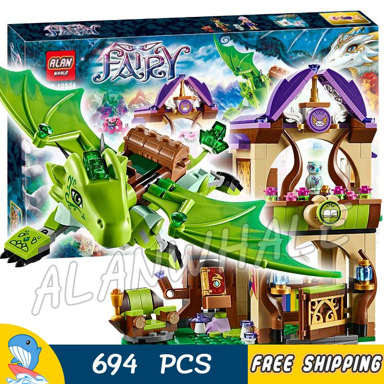 694pcs New 10504 The Secret Market Place Building Brick Blocks Model Gifts Kit Playset Toys Compatible With Lego Elves<br>