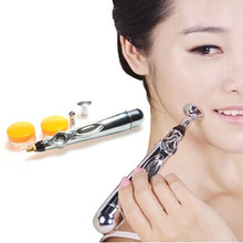 New Electric Acupuncture Magnet Therapy Heal Massage Pen Meridian Energy Pen Health Care