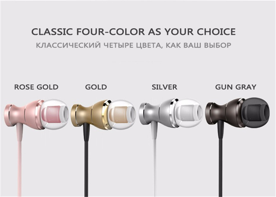 Mambaman J9 Metal Magnetic Sport Running Earphone In-Ear Earbuds Clarity Stereo Sound With Mic Headset For Mobile Phone MP3 Mp4 PC (12)