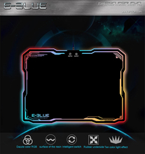 Original Mouse Pads E-3LUE EMP013 Pro Gaming Mouse Pad Gamer with 10 Models RGB Lighting Light Rubber Mice Mousepad E-Blue(China)