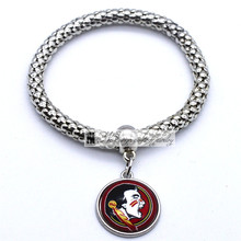 2017 Trendy Jewelry Sport Bracelet NCAA Florida State Seminoles Charms Bracelet&Bangle Women Men Fashion Accessories(China)