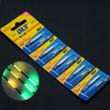 Easy Time DLY CR425 Battery Electronic Fishing Float Necessary The drownded Electronic Luminous Electronic Battery 10pcs/Lot