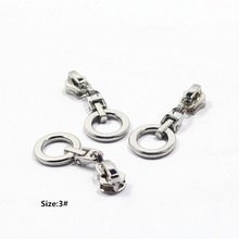 3# Wholesale 10pcs Zipper nice gold  Metal Zipper Pulls zipper Head For Handbag/ Backpack/Clothing/Sewing Tailor Tools,t42