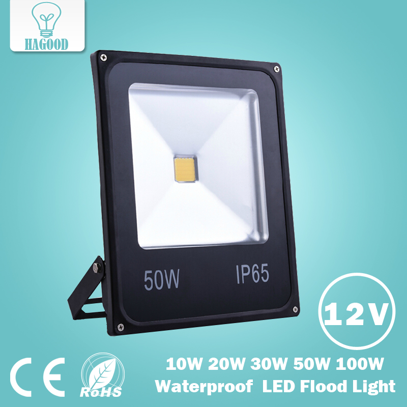 DC12V LED Flood Light LED spotlight 10W 20W 30W 50W 100W White/Red/Blue/Green/Yellow Outdoor spotlight Light LED Floodlight(China (Mainland))