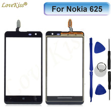 For Lumia 625 Touchscreen Front Panel Digitizer For Nokia Lumia 625 N625 Touch Screen Sensor LCD Display Glass Cover Replacement(China)