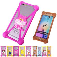 Minions Anti knock TPU Cell Phones Cases For BLU Life Play Mini Rubber Minnie Garfield 3D Case Cover For BLU Dash C Music
