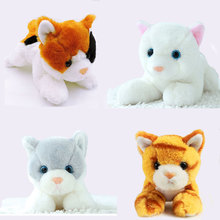 1pcs 20cm Small Kawaii Kitten Cat Plush Toy Stuffed Simulational Cats Soft Kids Toys for Children Gifts Decor Collection(China)