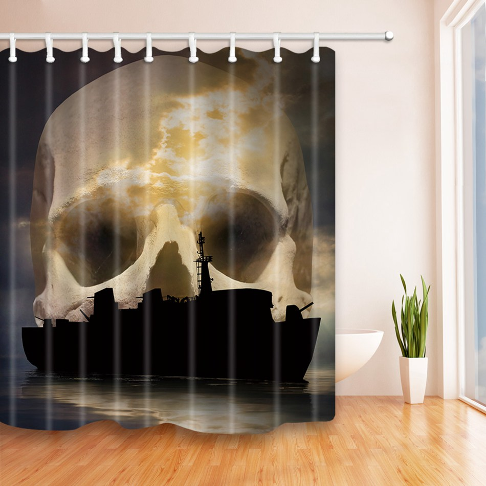 Skull bathroom decor