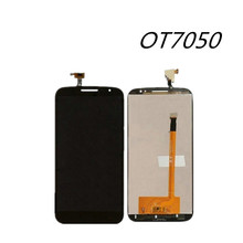 For Alcatel One Touch Pop S9 OT7050Y OT7050 7050y LCD Display+Touch Screen Original Screen Digitizer Assembly Replacement Phone(China)