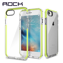 ROCK SGS Certification Anti knock phone case for iPhone 7 7 Plus Guard Series Soft TPU + high elastic TPE Drop Protection Case(China)