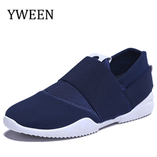 YWEEN New Fashion Men's Casual Shoes Spring autumn Special Offer Slip-on Male Canvas Breathable Flat With Shoe(China)