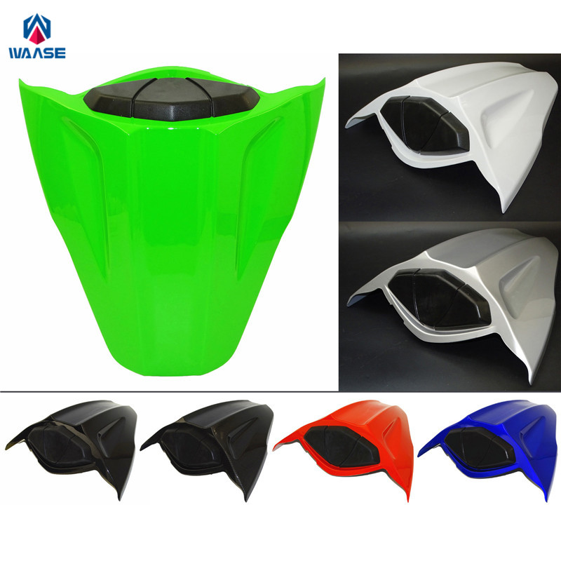 waase For Kawasaki Ninja ZX10R 2011 2012 2013 2014 2015 Rear Seat Cover Tail Section Fairing Cowl Back Cover<br>