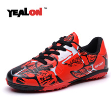 YEALON Kids Football Shoes 2017 Men Soccer Cleats Tenis Feminino Esportivo Superfly Cleats Football Boot Superfly Original Shoes