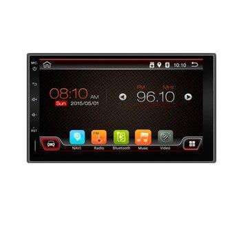2 din 7 дюймов Android 6.0 автомобиль радио-плеер HD Сенсорный экран 1080 P Видео GPS Стерео аудио с Экрана Зеркальное и OBD2