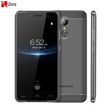 "Original Homtom HT37 Pro 4G Mobile Phone MTK6737 Double Speakers 5.0""HD 13MP Android 7.0 3GB+32GB 3000mAh Fingerprint Smartphone"