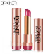 Drxiner lipsticks matte lipstick lips make up products lip Waterproof Long-lasting Easy To Wear Cosmetic(China)