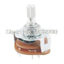 Channel Rotary Selector Switch 12 Pins 2 Pole 5 Position(China)