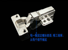 Furniture hardware Accessories Furniture fittings Furniture Cabinet hinges Folding hinge 2pcs/lot Free shipping