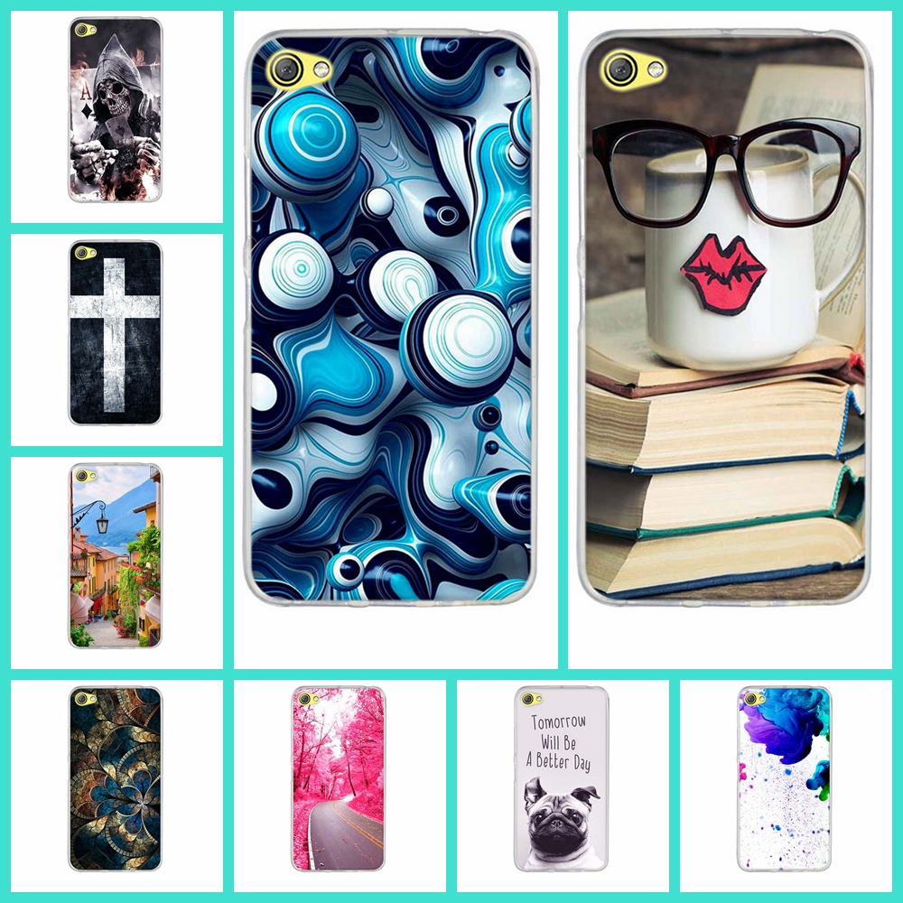 Luxury TPU Soft Silicone Case Cover Lenovo S60 S 60 S60W S60T Phone Cases Thin Original Cartoon Phone Bags Back Cover SKin