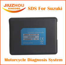 2016 DHL Free shipping SDS For Suzuki Motorcycle Diagnosis System Support Multi-Languages for suzuki motorcycle diagnostic tool