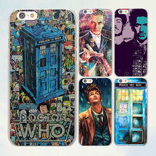Comic Book Collages doctor who TV shows series hard transparent clear Cover Case for Apple iPhone 7 6 6s Plus SE 4s 5 5s 5c