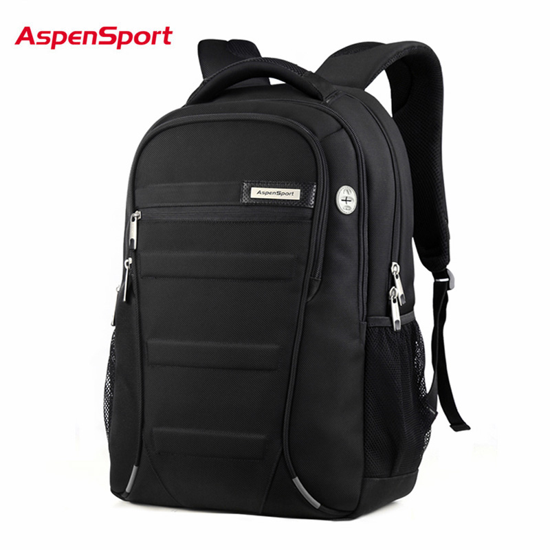ASPEN Men and Women  Laptop Backpack 15.6  17 Inch Rucksack SchooL Bag Travel waterproof Backpack Male Notebook Computer Bag <br>