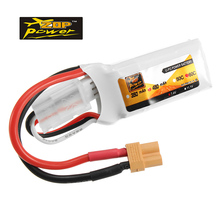 ZOP Lipo Battery Power 7.4V 450mAh 60C 2S XT30 Plug Rechargeable Battery Brand New RC Helicopter Accessories Accs(China)