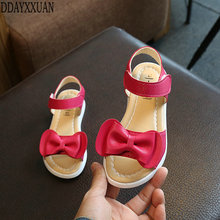 Buy New Fashion Girls sandals summer Kids Korean bow children Princess shoes baby shoes sandals girls shoes size 21-36 for $8.53 in AliExpress store
