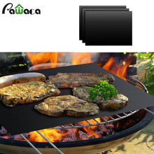 2/3/5Pcs PTFE Non-stick BBQ Grill Mat Barbecue Baking Liners Reusable Teflon Cooking Sheets 40*33cm Cooking Baebecue Tools