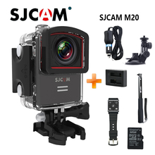 SJCAM M20 Wifi 30M Waterproof Sports Action Camera Sj Cam DV+2 Battery+Dual Charger+Remote Watch+Remote Monopod+32G SD Card
