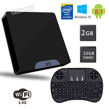 Buy X5 Mini PC TV Box BT4.0 WIFI 2GB/32GB Android 5.1 Support Windows 10/8 Ubuntu Linux 16.04 system 1920*1080P play Set-top Box for $97.29 in AliExpress store