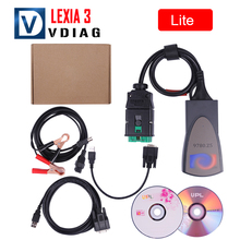 Hot selling Lexia3 Diagnostic Scanner Lexia 3 V48 PP2000 For Citroen Peugeot diagnostic tool free shipping(China)