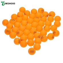 TOMSHOO 50Pcs/100Pcs 3 Stars 40MM Table Tennis White Yellow Ping Pong Balls Durable For Competition Professional Practice Balls
