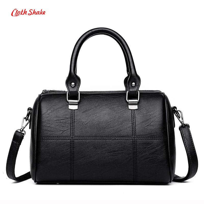 Women Messenger Bags Ladies Shoulder Bags PU Leather Handbags Large Capacity Crossbody Bag Female Fashion Patchwork Tote Bags<br>