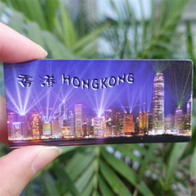 Victoria Harbour Hong Kong China Tourist Travel Souvenir 3D Resin Decorative Fridge Magnet Craft GIFT IDEA 4 Styles