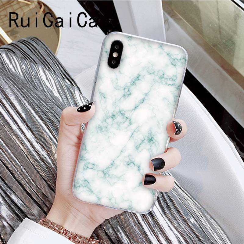Fashion marble aesthetic Love Heart Pattern Printting