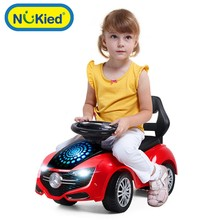 2017 scooter children four wheel twist car can sit Walker baby yo infant music foot driving car Ride On Cars(China)