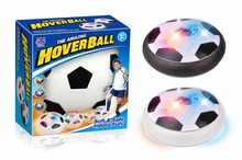 Kids LED Air Power Soccer Soft Safe Football Sport Children Toys Training Indoor Fun Outdoor Hover Ball with Foam Bumpers