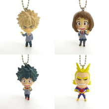 TL action figure Boku no hero academia / My Hero Academia version keychain model toy for Animation collection kid 4cm