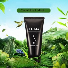 NEW Unisex Black Mud Deep Cleansing  Blackhead Remover Purifying Peel Face Mask Whitening Oil Control Remove Acne 60g+8g