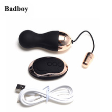 Purple/Black Bullet Adult Toys Vibrators Wireless Remote Control Egg Adult Sex Product for Women Sex Toys(China)