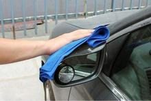5pcs/lot 70*30CM Microfiber car cleaning cloth wash towel products dust tools car washer auto supplies car accessories blue&08(China)