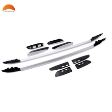 For Toyota RAV4 RAV 4 2014-2017 Aluminum Luggage Roof Bar Roof Rail Roof Rack Side Bars Roof Rack Luggage Carrier Car Covers(China)