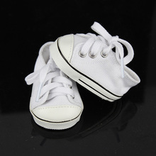 New White Sneaker Fit For 43cm Baby Born Zapf(China)